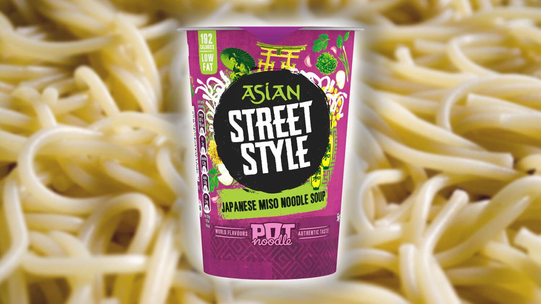 Pot Noodle Just Launched a New Vegan Miso Flavor