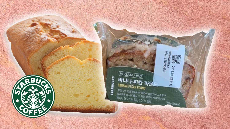 You Can Now Get Vegan Pound Cake at Starbucks South Korea