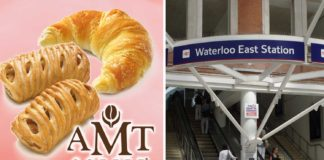 Vegan Croissants and Sausage Rolls Now at UK Train Stations