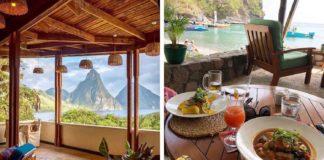 St. Lucia Luxury Resort Restaurant Goes Completely Vegan