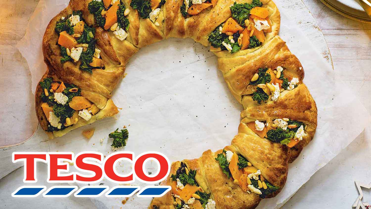 Tesco Just Debuted Its New Vegan Christmas Range