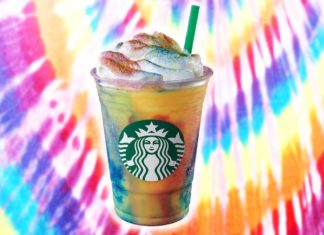 You Can Now Get a Vegan Tie-Dye Frappuccino at Starbucks