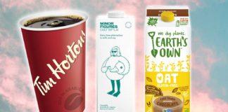 Tim Hortons Adds 3 Vegan Milk Options to New Cafe Menu