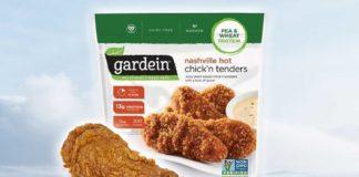 Gardein Launches Spicy AF Vegan Nashville-Style Chicken