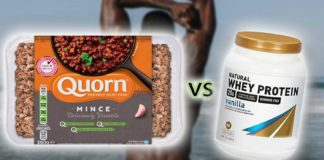 Science Says Quorn's Vegan Meat Is Better for Gains Than Whey