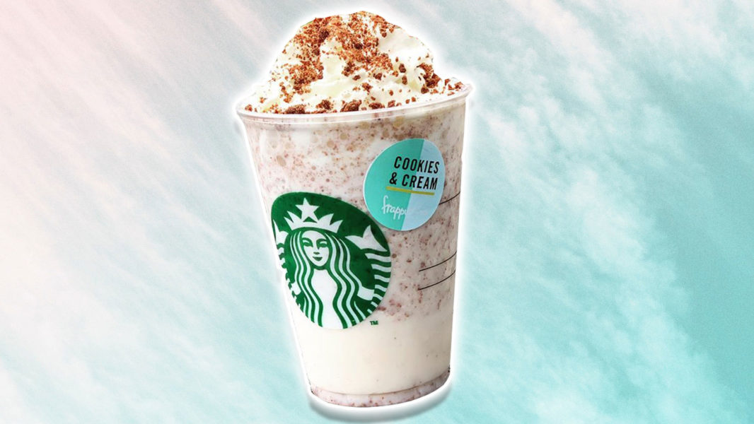 Starbucks Cookies 'n' Cream Frappe Isn't Vegan, But You Can Make Your Own