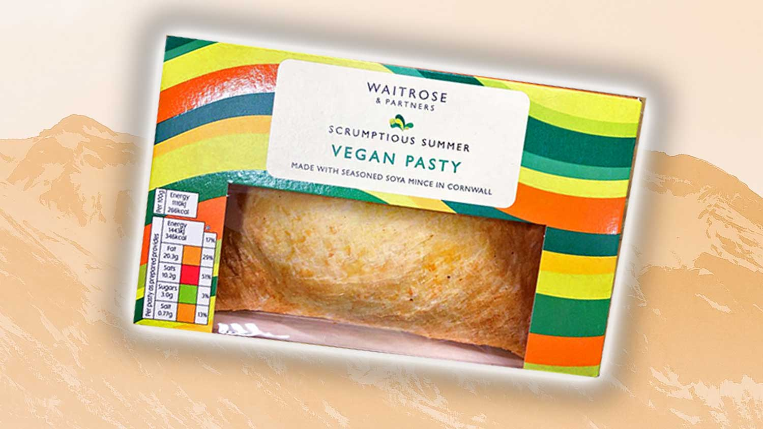You Can Now Get Vegan 'Cornish' Meat Pasties At Waitrose