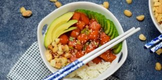 Make This Vegan Fish Poke With Watermelon