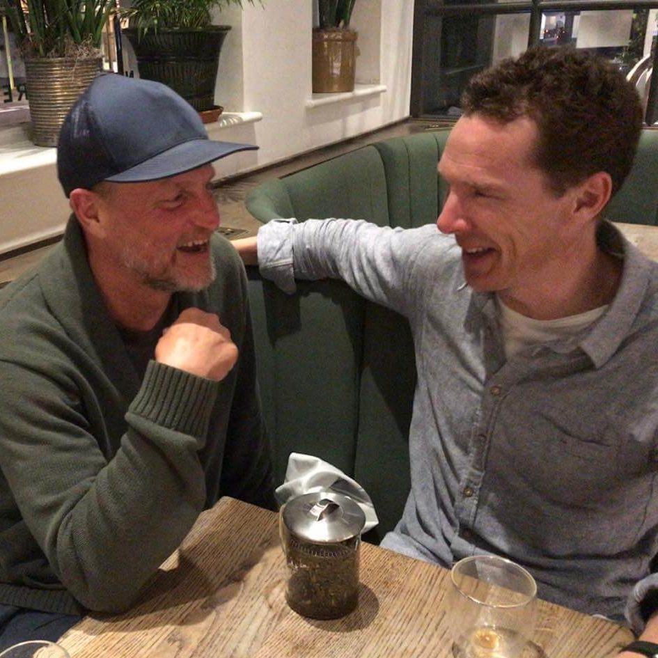 Woody and Benedict Just Had The Cutest Vegan Man-Date