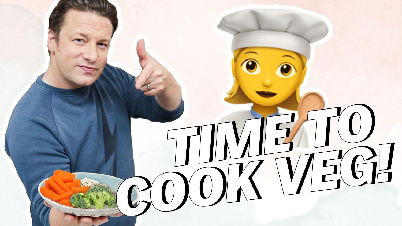 Jamie Oliver Goes Vegetarian