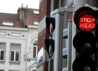 Berlin's Traffic Lights Want You to Go Vegan
