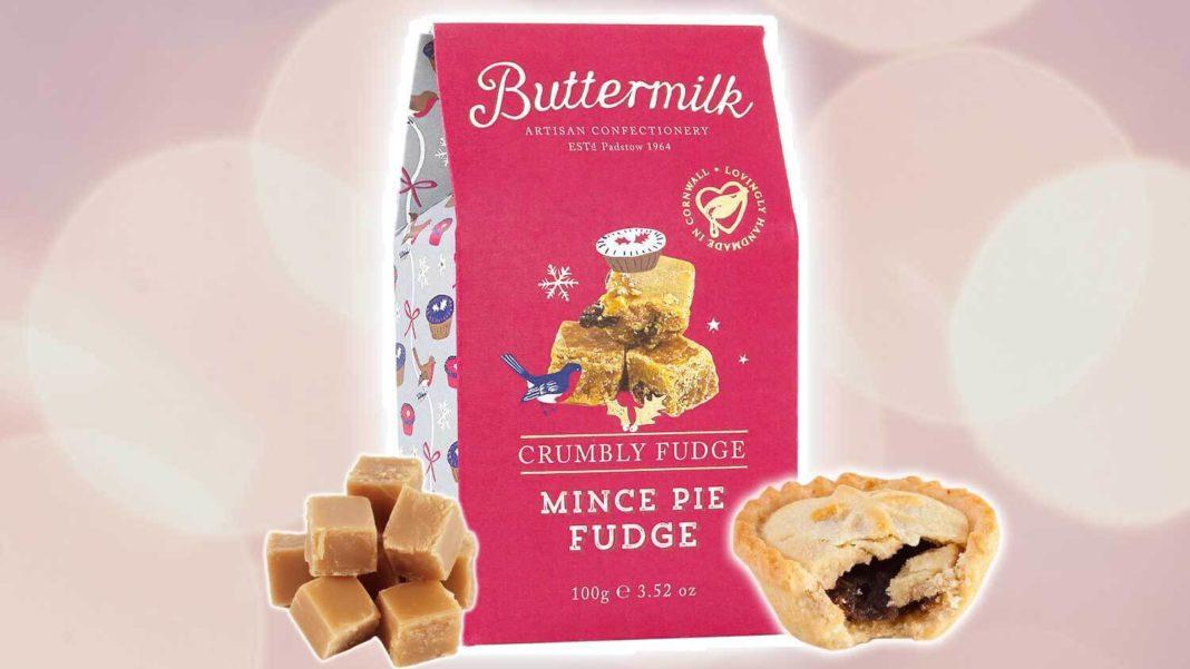 Sainsbury's Is Launching Vegan Mince Pie Flavored Fudge
