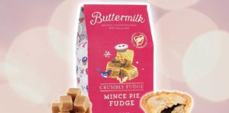 Sainsbury's Is Launching Vegan Mince Pie Flavored Fudge