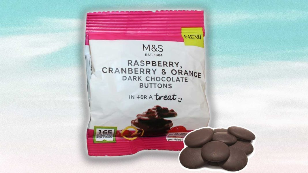 Marks Spencer Just Launched Vegan Chocolate Buttons