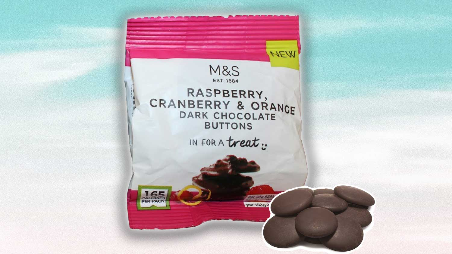 Marks & Spencer Just Launched Vegan Chocolate Buttons