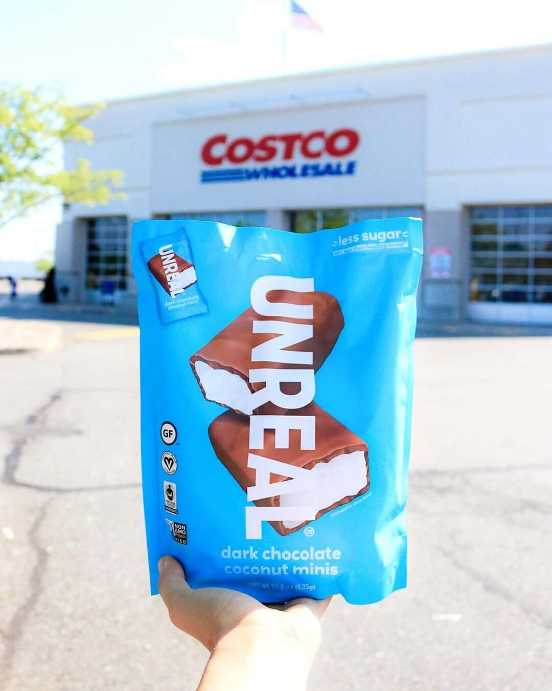 Costco Launches Vegan Bounty Chocolate Bars Livekindly