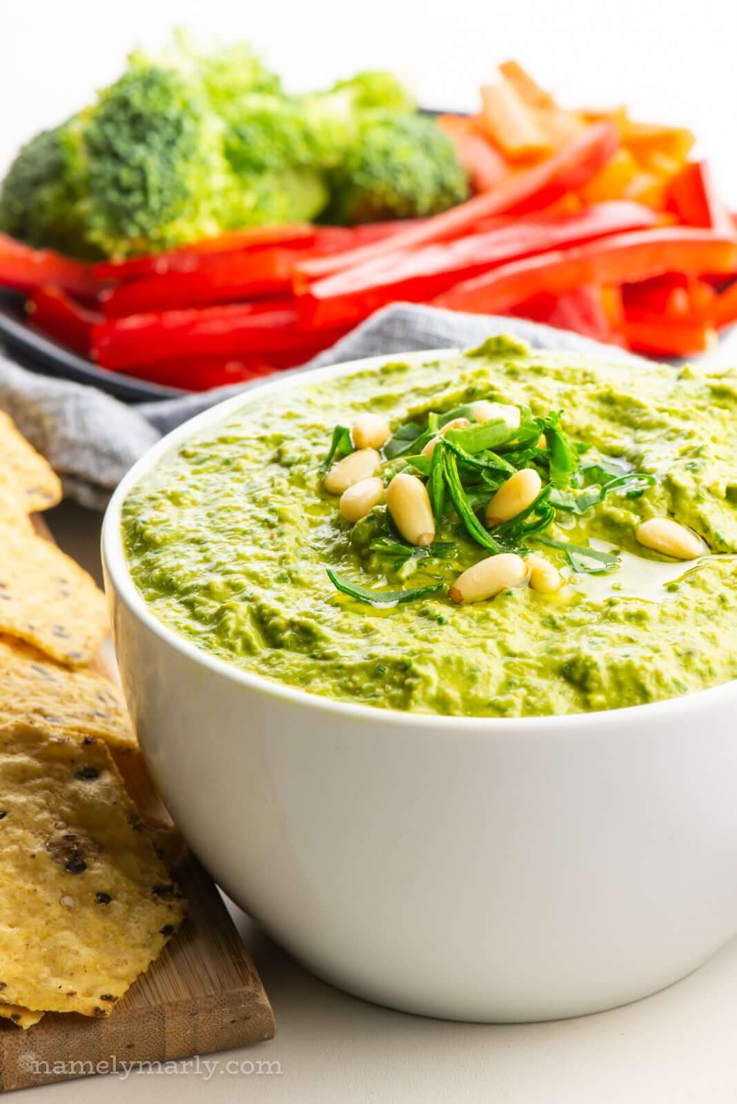 Give Your Vegan Hummus a Kick With Power Greens