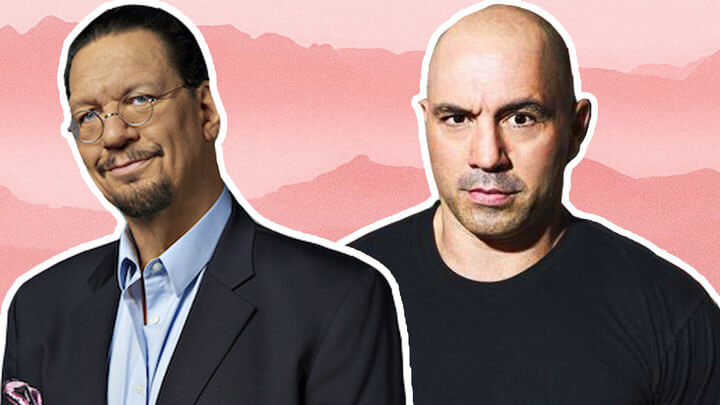 Penn Jillette Explains to Joe Rogan Why He's an Ethical Vegan