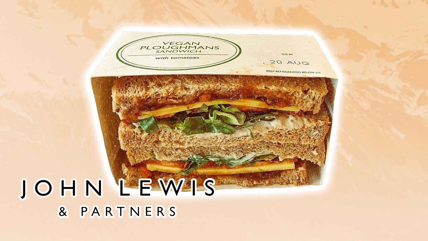 Vegan Cheese Ploughman's Sandwiches Are Now at John Lewis