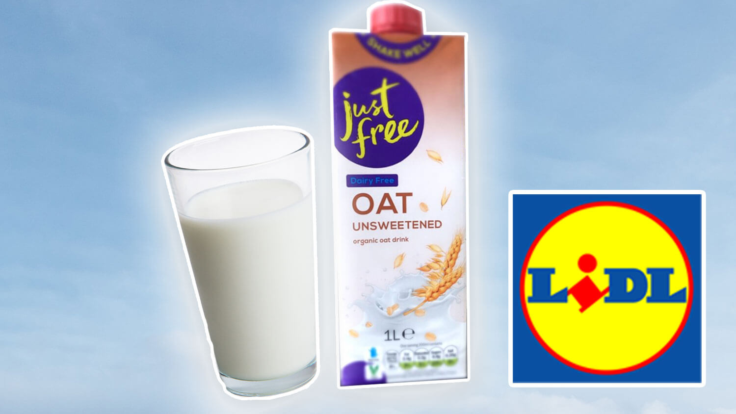 Budget Almond and Oat Milk Launch At Lidl