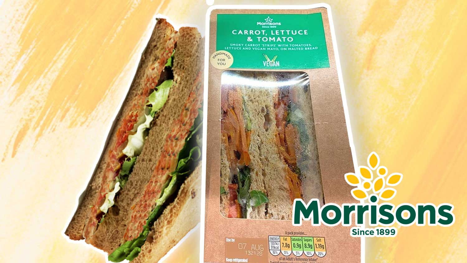 Vegan Bacon BLT Sandwiches Just Launched at Morrisons