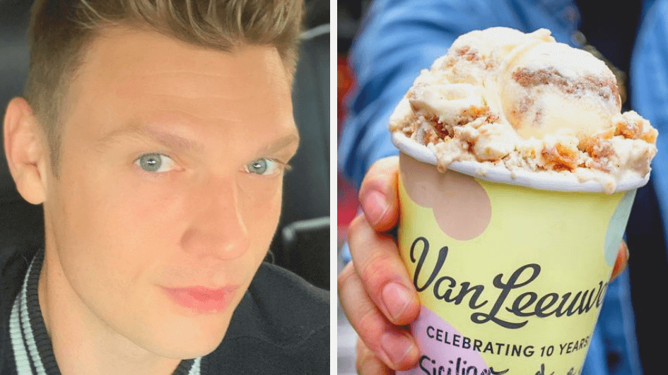 Backstreet Boy Nick Carter Eats Vegan Ice Cream By the Pint, Too