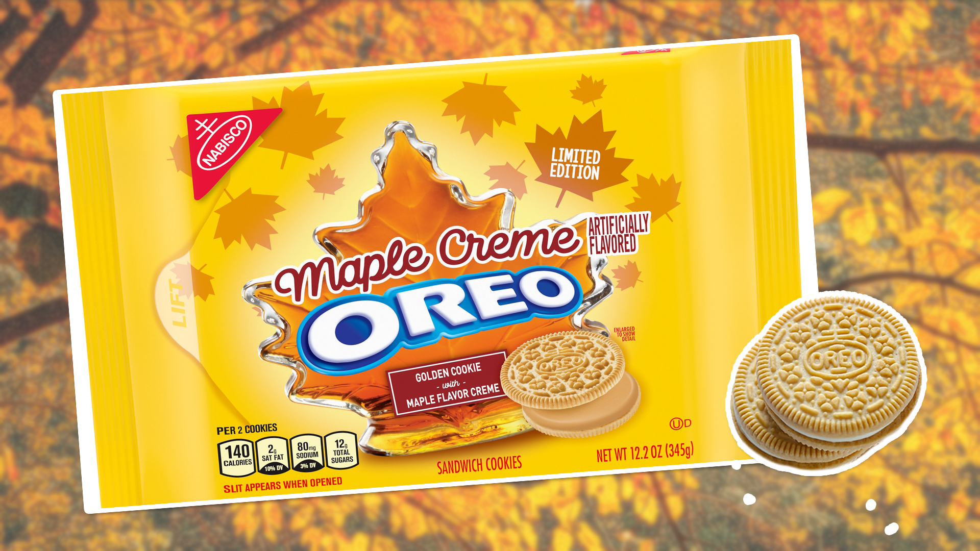 Vegan Maple Creme Oreos Have Arrived Just in Time for Autumn
