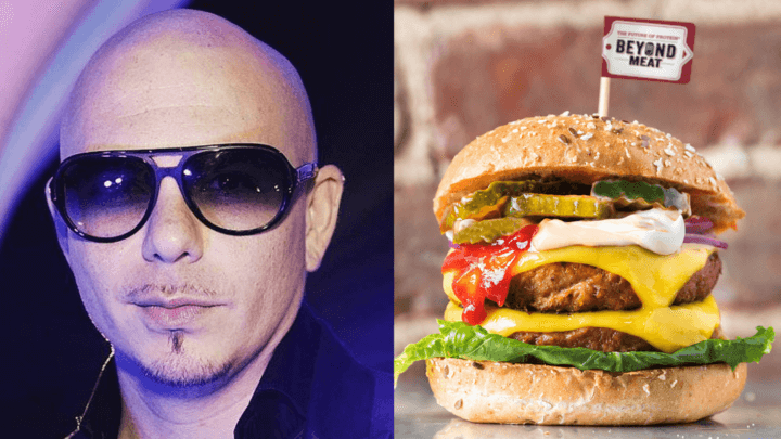 Pitbull's Burger Chain Just Launched Vegan Beyond Burgers