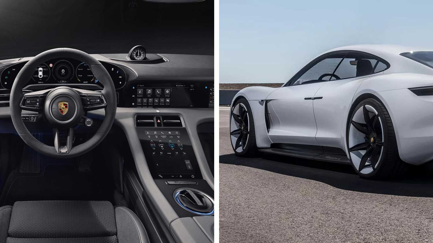 The 2020 Porsche Electric Taycan Has A 100 Vegan Leather Interior Livekindly