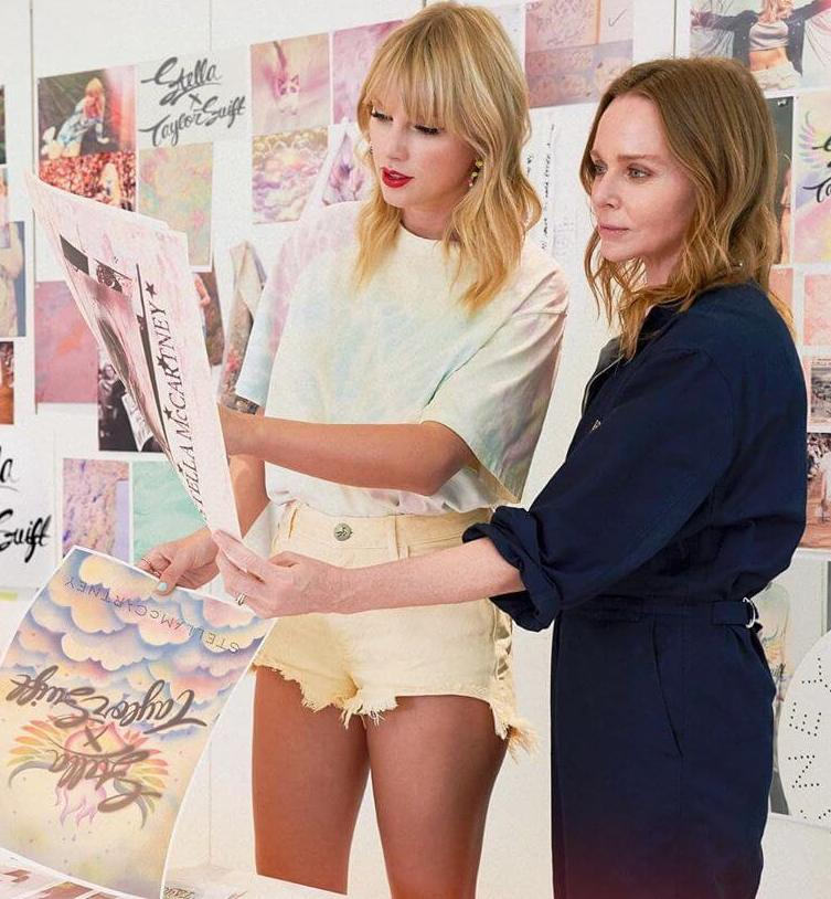 Taylor Swift and Stella McCartney Just Launched a Vegan Fashion Line