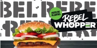 Vegan Burgers Have Arrived at Burger King in Brazil