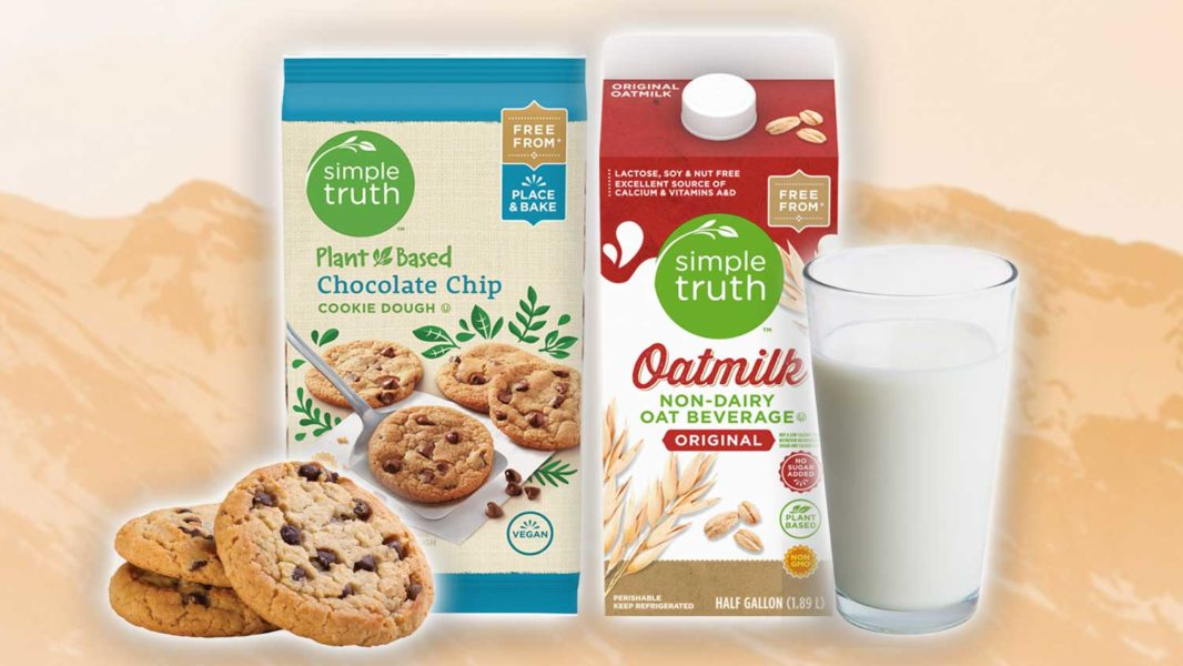 Kroger Just Launched Its Own-Brand Egg-Free Cookie Dough and Dairy-Free Oat Milk