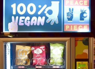 Manchester Now Has Vending Machines With Vegan Mars Bars