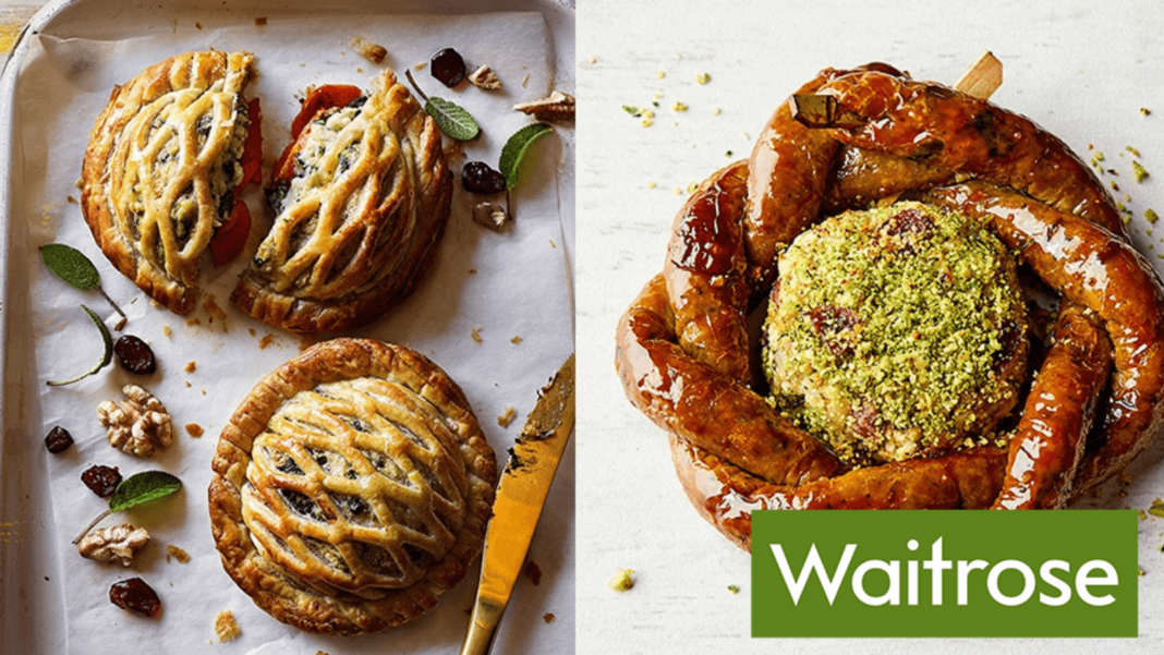 Waitrose Reveals a Meaty Vegan Holiday Range Launching This Christmas