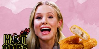 Kristen Bell Joins the Vegan 'Hot Ones' Club