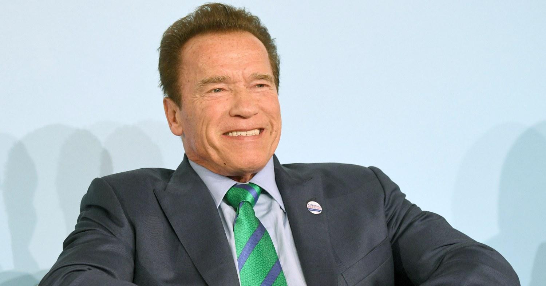 Arnold Schwarzenegger at an event