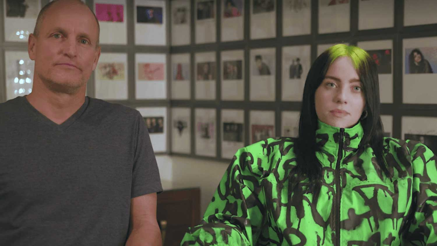 Billie Eilish and Woody Harrelson Vs. Climate Change In New Video