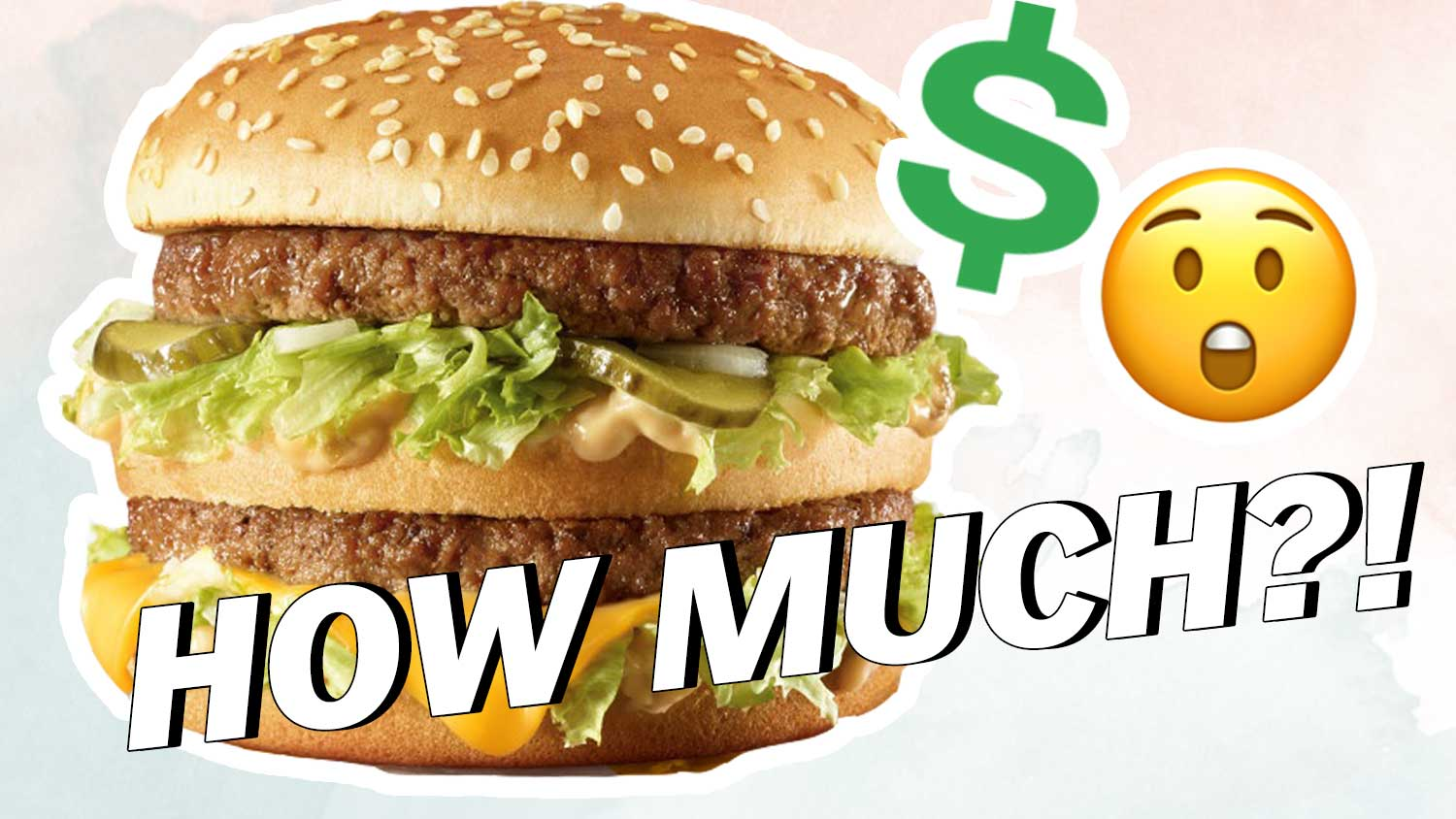 What's The Real Cost Of A Burger?