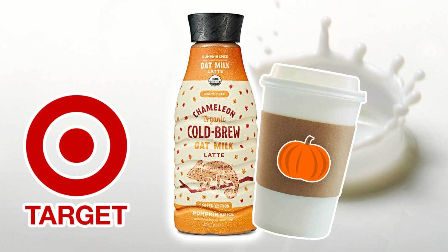 Chameleon Just Launched Pumpkin Spice Oat Lattes at Target