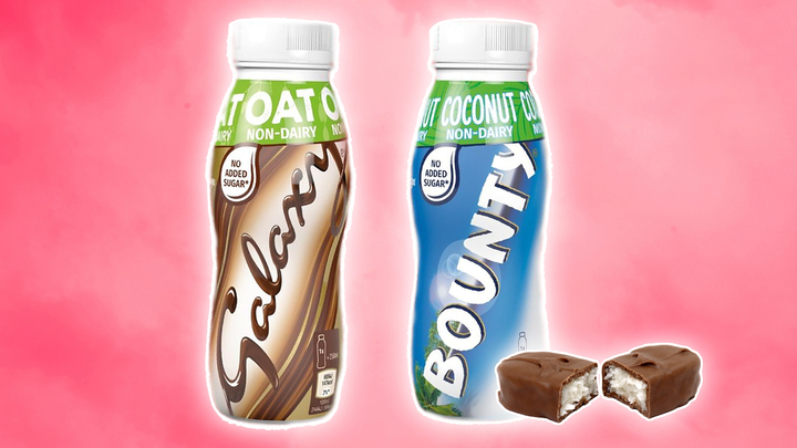 Vegan Galaxy and Bounty Milkshakes Have Arrived