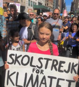 Greta Thunberg and Jaden Smith Urge New York Climate Strikers to 'Heal the World'