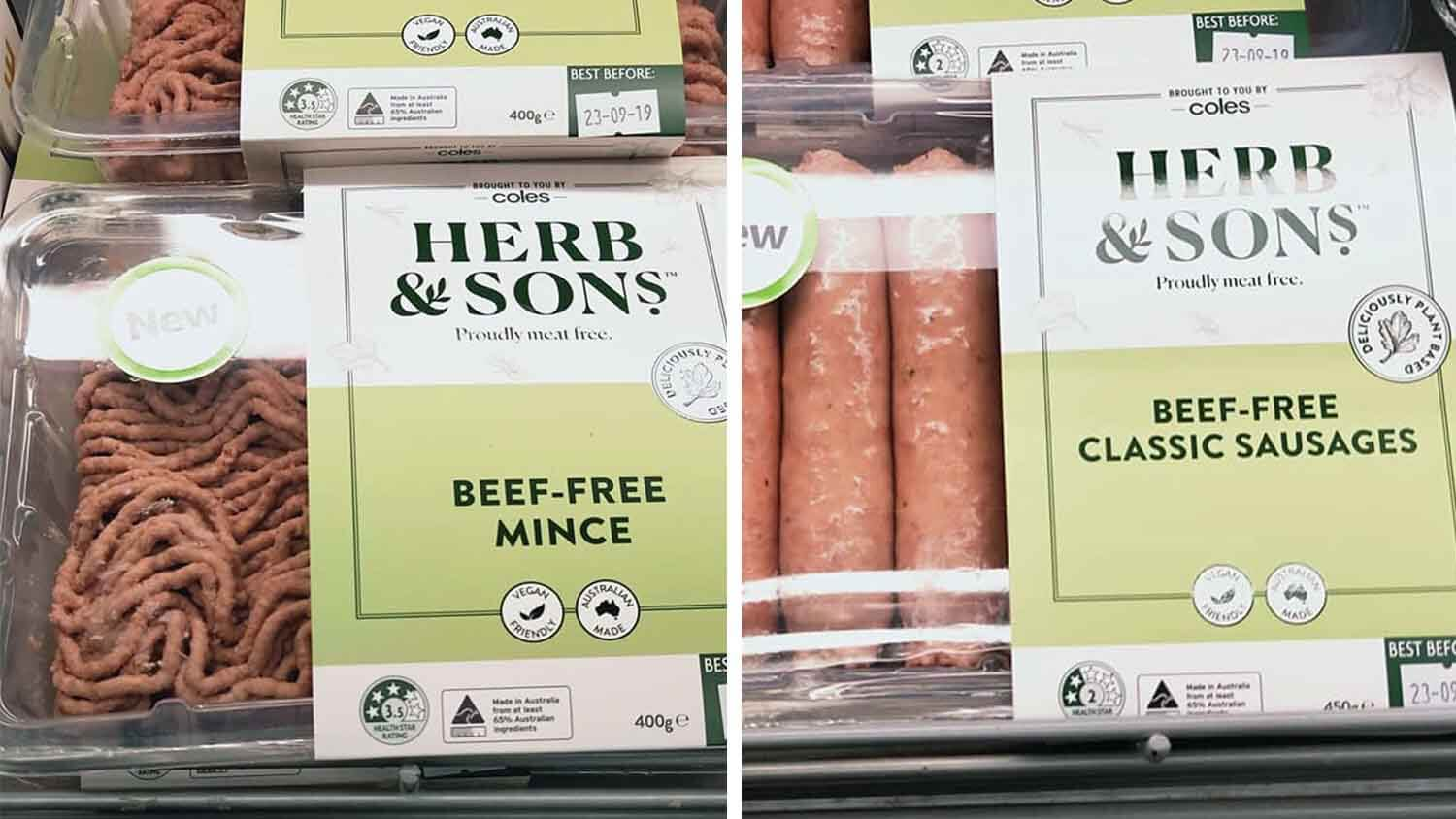 A Giant Vegan Meat Range Just Launched at Coles