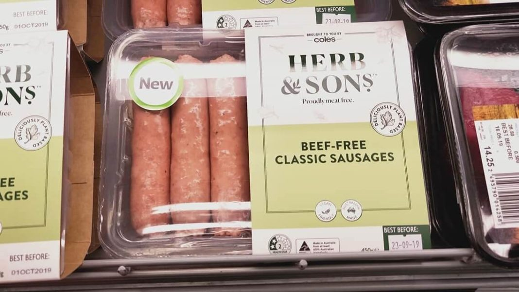 Herb and Sons Vegan Meat Range Launches at Coles