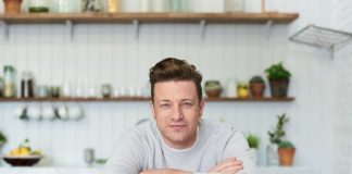 Jamie Oliver Gives Up Meat to Live Longer