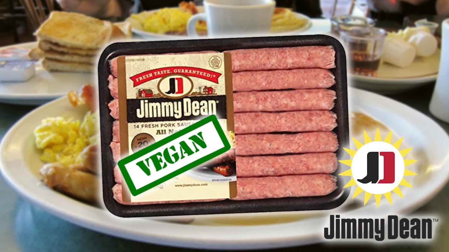 Jimmy Dean's Famous Sausages Could Soon Be Vegan