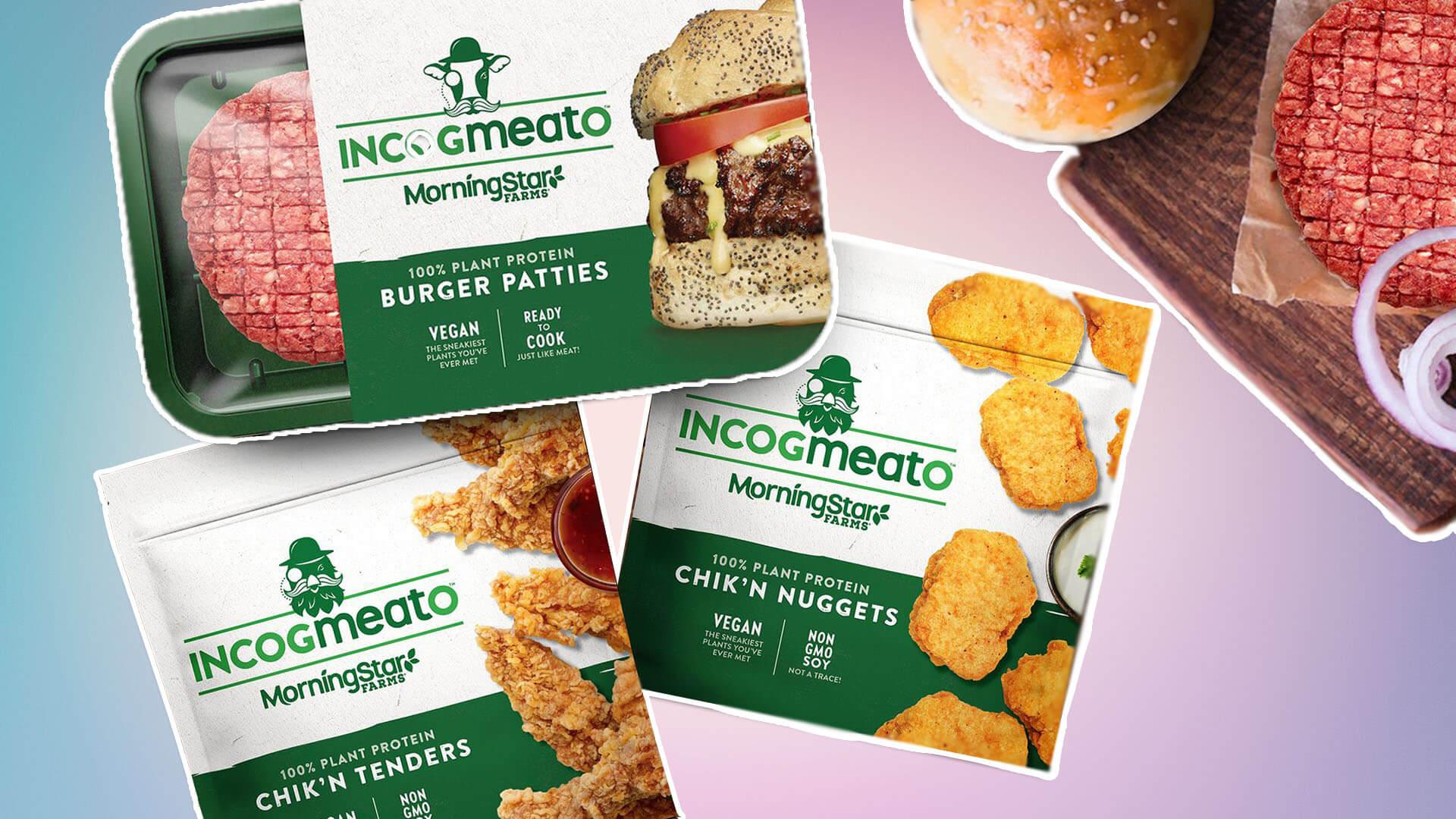 Morningstar Farms Launches 'Incogmeato' Vegan Meat Range