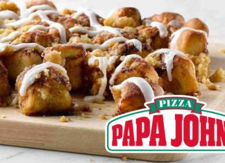 Vegan Cinnamon Scrolls Just Launched at Papa John's