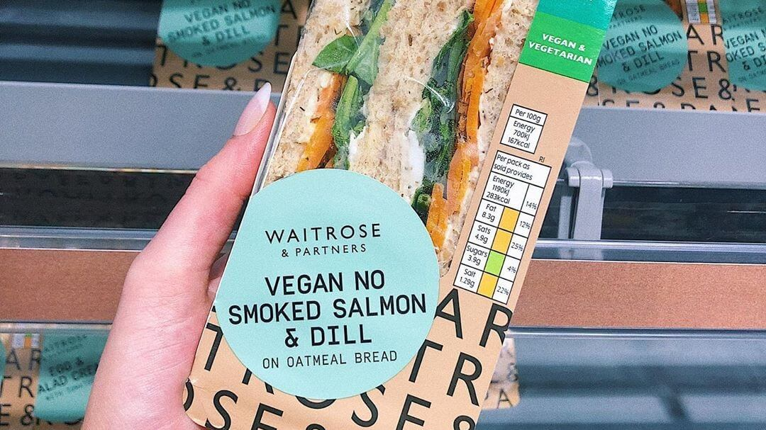 Waitrose Just Launched Vegan Smoked Salmon Sandwiches