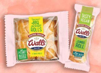 Wall's Just Launched Jumbo Vegan Sausage and Jackfruit Rolls