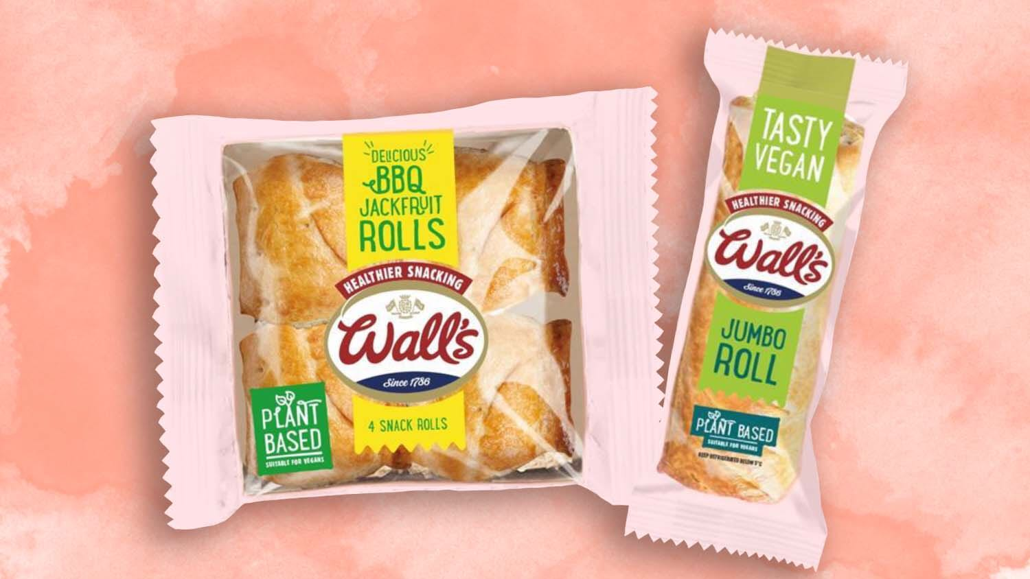 Wall's Just Launched Jumbo Vegan Sausage and Jackfruit Rolls
